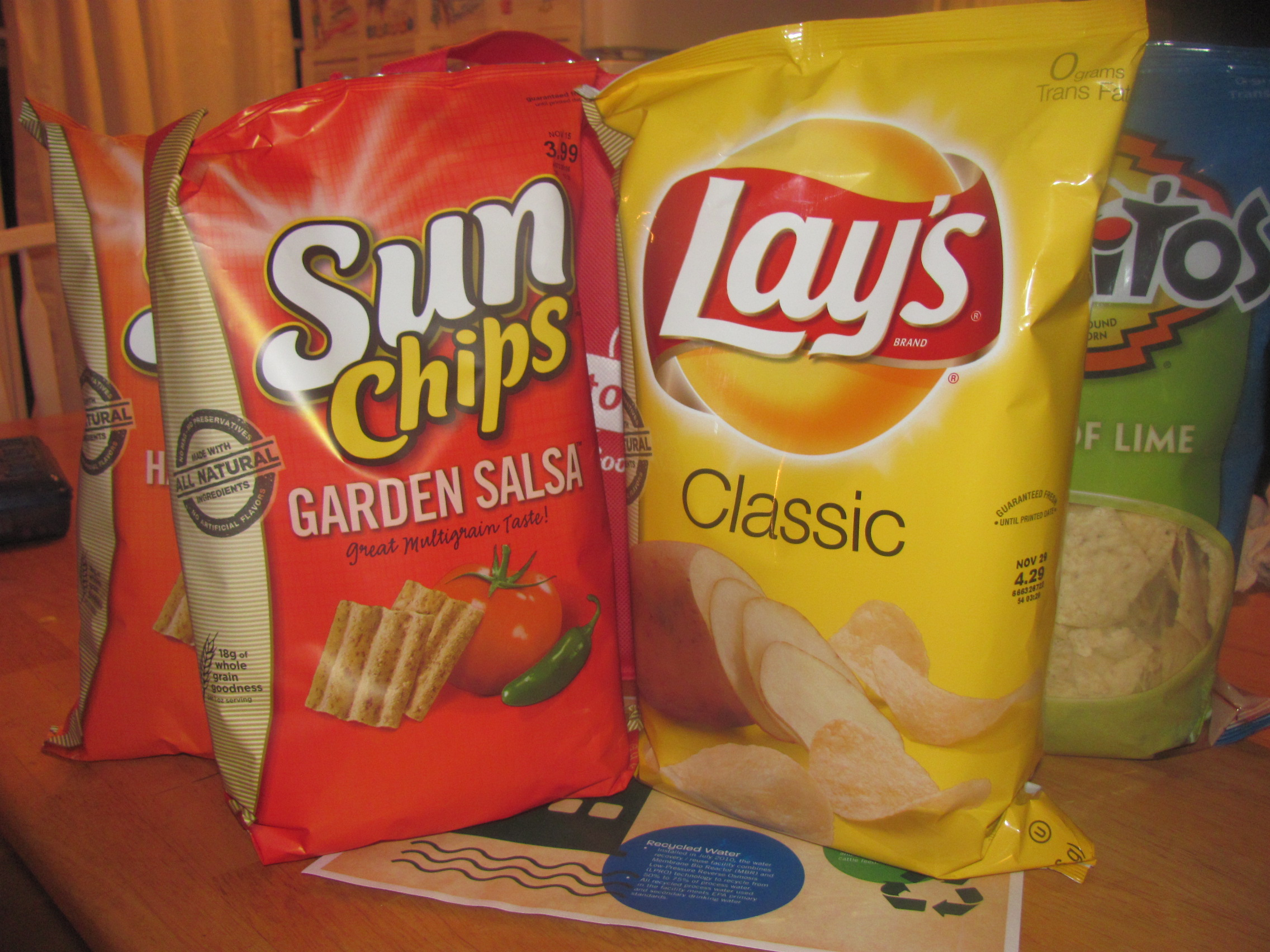 frito lay goes green fritolaygreen yellow tennessee we