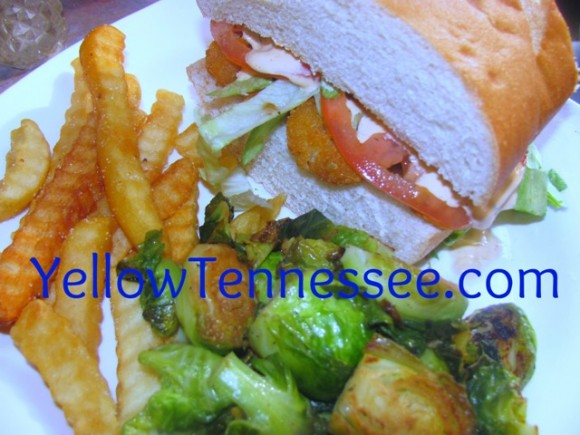 Shrimp Po'Boy with Homemade Spicy Remoulade Recipe - Yellow Tennessee