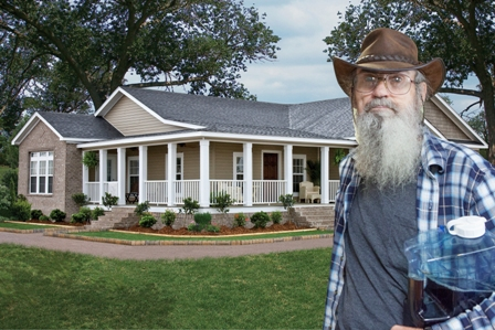 Si Robertson is Proud New Owner of a Clayton Home