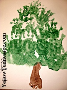 Hand and Foot print tree