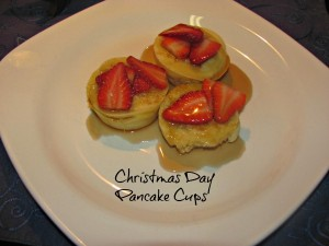 Pancake Fruit Cups