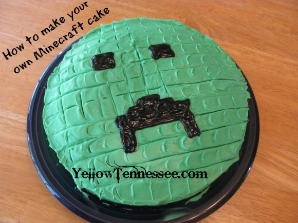 Make your own Minecraft Cake