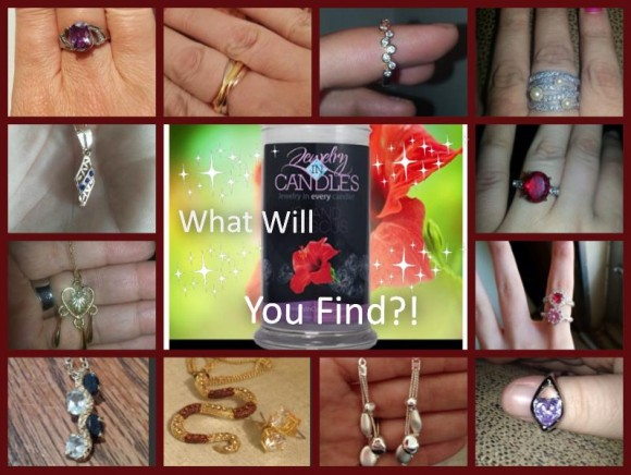 Jewelry in Candles finds