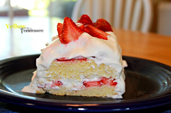 Layered Starwberry Shortcake
