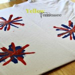 #DIY Fireworks T-Shirt #Craft