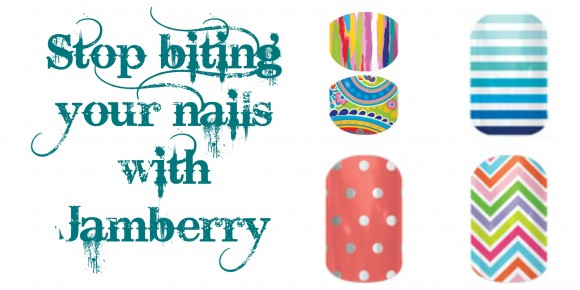 Stop biting your nails with Jamberry