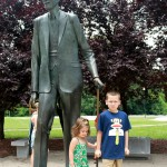 The Gentle Giant, Robert Wadlow in Alton, Illinois.  #RoadsideAttraction