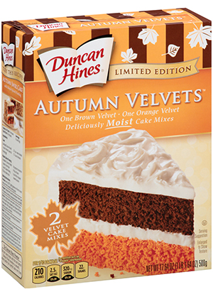 Bake a Taste of Autumn with Duncan Hines Yellow Tennessee