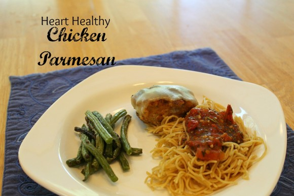 Heart Healthy Chicken Parmesan