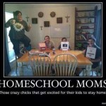 Crazy Homeschool Moms
