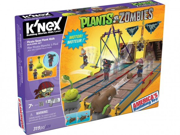 K'Nex Pirate seas plank walk set