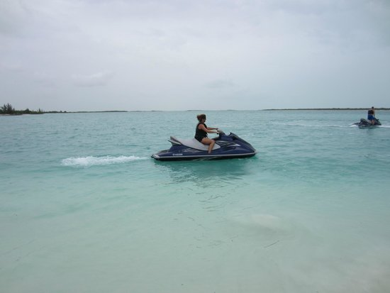 Coral Gardens on Grace Bay jet ski