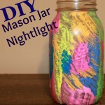 DIY Mason Jar Night Light