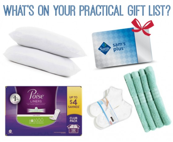 Practical Gift List from Sam's Club - Poise Liners Included | #MyPoiseMoment