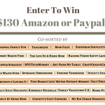 $130 Paypal or Amazon Giveaway