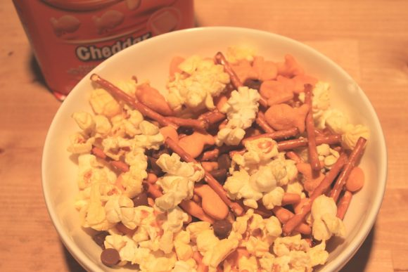 Creating Smiles with a Goldfish® Snack Mix Recipe