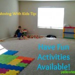 Tips for Dealing With Kids During a Move