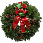 Express your Unique Style with a Wreath from Christmas Forest.  #Giveway
